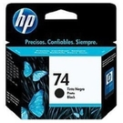 CB335WA HP 74 黑色墨水匣 適用 Deskjet D4260, photosmart C4280/C4385/C5280/D4260/D4360/D5360