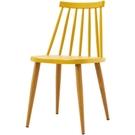 餐桌 CV-770-6 7037餐椅(黃色)【大眾家居舘】