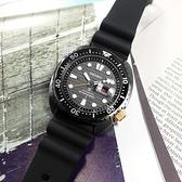 SEIKO 精工 / 4R36-06Z0N.SRPH39K1 / 限量款 PROSPEX 海龜 潛水錶 機械錶 花蓮太魯閣峽谷 矽膠手錶 黑色 45mm