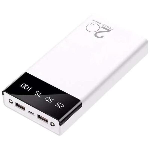 行動電源 便攜小巧超薄充電寶1000000超大容量蘋果手機通用80000快充毫安閃【快速出貨八折鉅惠】