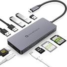 Nov8Tech【日本代購】 USB C集線器Type C適配器11 in 1