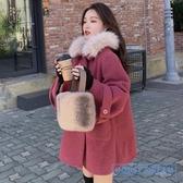 斗篷外套女 2020新款秋冬季流行赫本風中長款斗篷外套女裝小個子妮子大衣