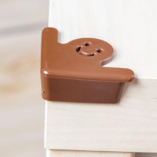 慢思行?【M171】鏤空造型防撞貼(四入) 加厚 安全 兒童 桌腳 防護 保護 柔軟 厚實 桌面