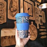 環保隨行杯14oz/百合 (morris藝術聯名款)【Ecoffee Cup】