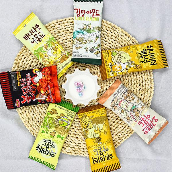 韓國 Toms Gilim 蜂蜜奶油/芥末/香蕉/海苔/養樂多/蜂蜜奶油/火辣雞 杏仁果/腰果(35g/30g)【庫奇小舖】