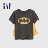 Gap男幼Gap x DC正義聯盟系列蝙蝠俠短袖披風T恤545391-溫和黑色