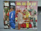 【書寶二手書T7/雜誌期刊_QAB】職業棒球_262+263+268期_共3本合售_大地英猴等