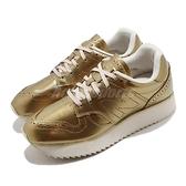 【四折特賣】New Balance 休閒鞋 NB 520 金 米白 女鞋 厚底 鋸齒設計 增高 復古【ACS】 WL520MDB