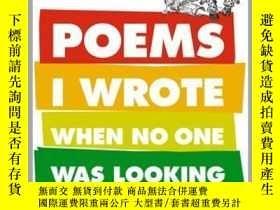 二手書博民逛書店Poems罕見I Wrote When No One Was LookingY362136 Photo Cre