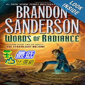 【103玉山網】 2014 美國銷書榜單 Words of Radiance (The Stormlight Archive, Book 2)   $989