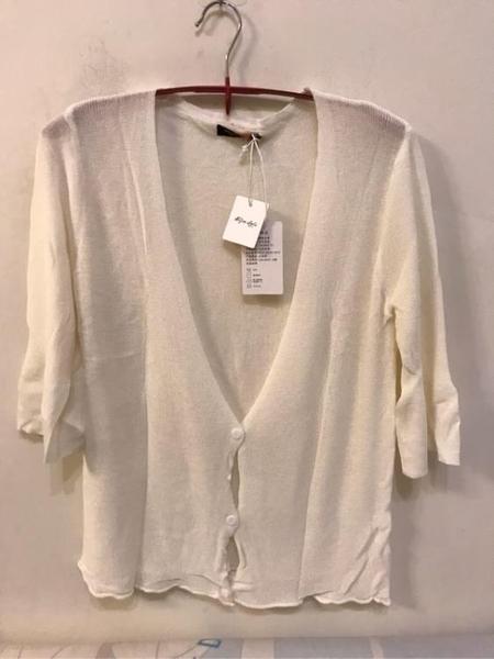 基本款修身顯瘦純色雪紡罩衫(F碼/222-4538)