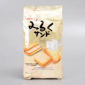 日本【寶製果】牛奶夾心餅乾86g(賞味期限:2019.02.20)