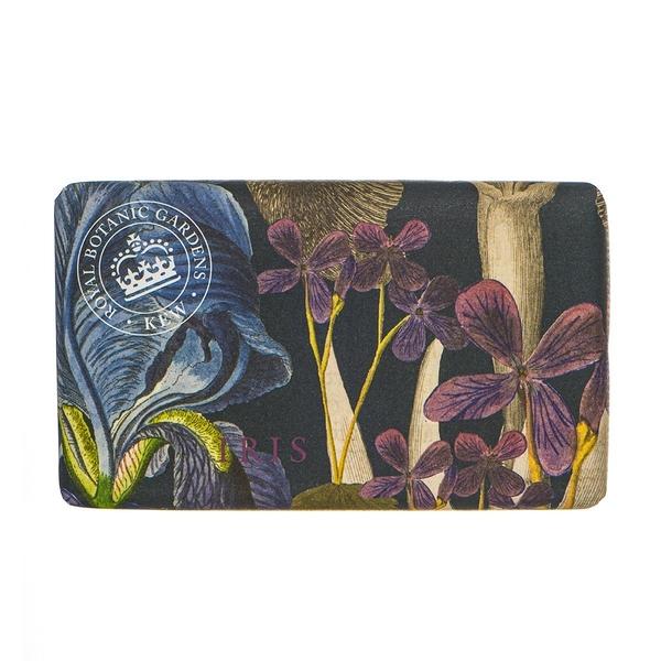岡山戀香水~Kew Gardens 英國皇家植物園 乳木果油天然香皂 240g (鳶尾花) ~優惠價:299元