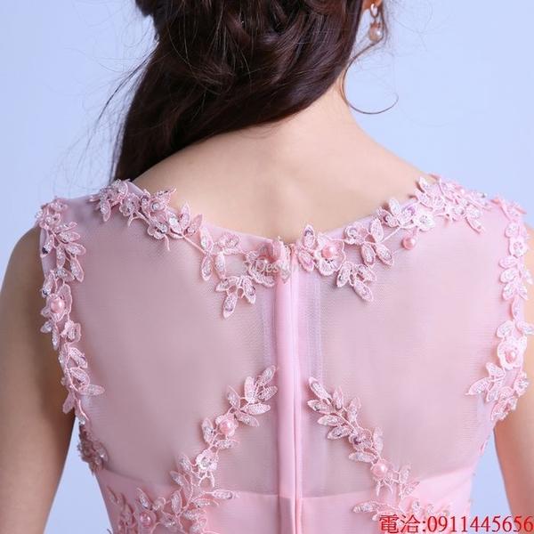 (45 Design)  7天到貨 長禮服伴娘禮服 結婚晚禮服姐妹裙長版禮服 韓式 洋裝 新娘敬酒服 連身裙8