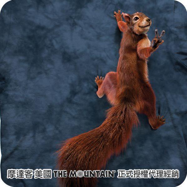 【摩達客】(預購)美國進口The Mountain 和平松鼠 純棉環保短袖T恤(10415045069)