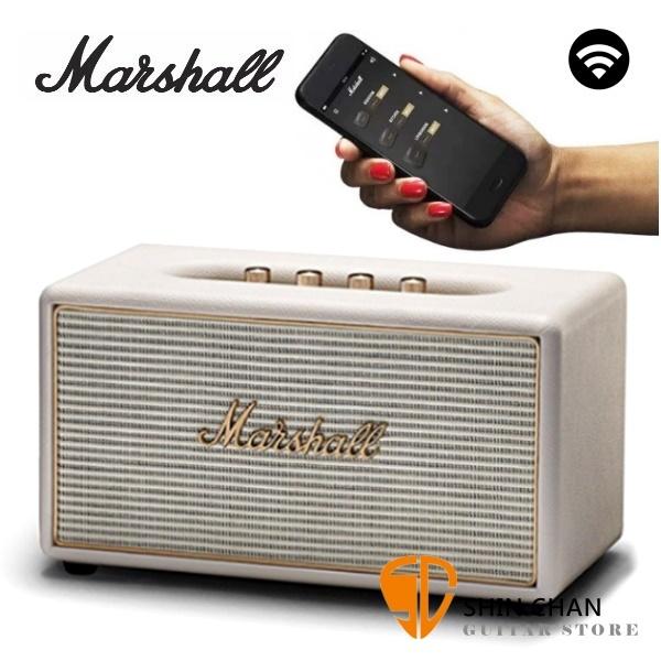 【缺貨】Marshall Stanmore Wifi 音響 Multi-Room 無線喇叭 Wi-Fi / 藍芽喇叭 經典音箱 造型 白 STANMORE WIFI