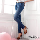 Victoria 老爺長褲-女-中藍