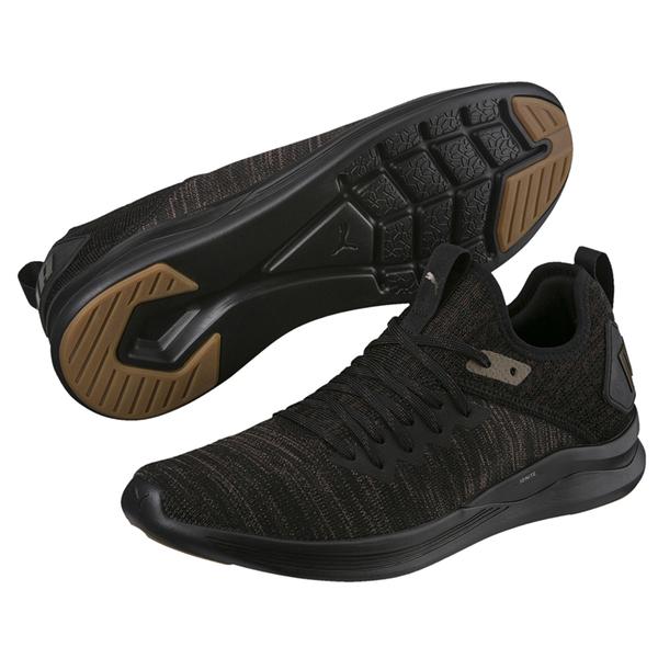 Puma IGNITE 棕色 運動鞋 慢跑 健身 運動 跑步 編織款 彈性 運動鞋 休閒鞋 19159402