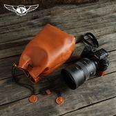 索尼A9 a7r3相機包A7M3真皮套佳能尼康Z6 z7收納內膽包牦皮質袋