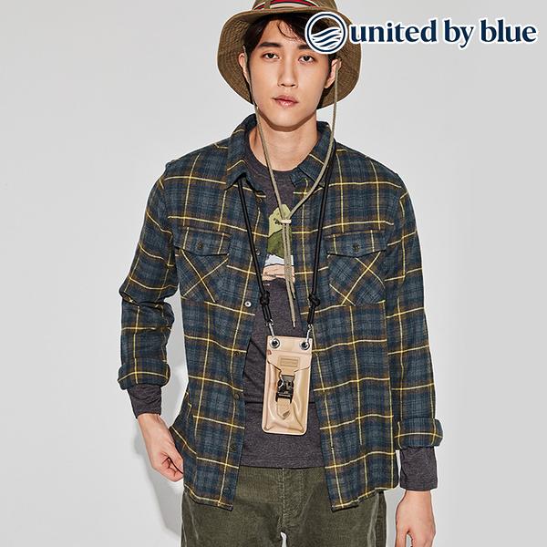 United by Blue 男格紋長袖襯衫 101-074 Bridger Flannel / 城市綠洲 (有機棉、環保、無化學物、美國品牌)
