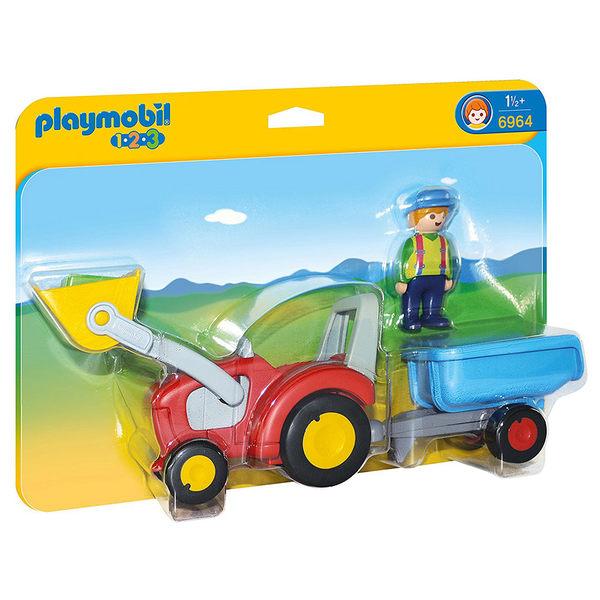 playmobil 123series 小堆土機_PM06964