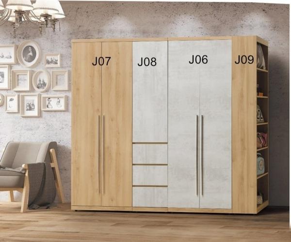 【新北大】S359-10 芙洛琳1.5尺衣櫃(J08)(單桶)-2019購
