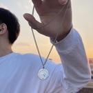 項鍊 十二星座硬幣項鍊男潮韓版個性鈦鋼吊墜男士嘻哈掛件情侶配飾女生 寶貝寶貝計畫 上新