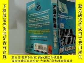 二手書博民逛書店CHERUB:罕見Maximum Security :小天使系列:絕對安全Y200392