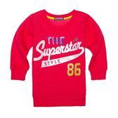 『小鱷魚童裝』亮麗印花長版T恤(02號~08號)358458