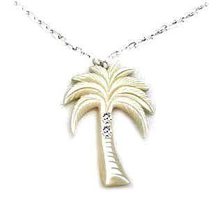貝殼椰子樹項鍊