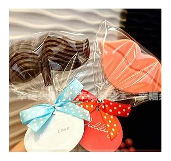 幸福朵朵【歐美流行大鬍子&大嘴唇 巧克力】送客禮.二次進場婚禮小物.情人節禮物.拍照kuso~