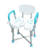 MedGear免工具扶手洗臀椅附蓮蓬頭掛座