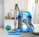 商用吸塵器 杰諾工業吸塵器小型家用裝修粉塵強力地毯式大功率干濕吹桶式商用 熱銷