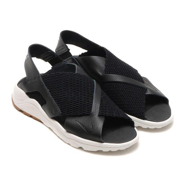 9e54ac89a13fb NIKE W Air Huarache Ultra 女鞋涼鞋休閒武士鞋皮革梭織黑白 運動世界 ...