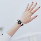 潮流時尚星空手錶女士鋼帶防水2021新款休閒簡約大氣韓版學生石英