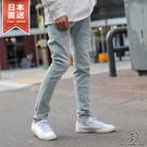 牛仔褲 淺色彈性休閒丹寧褲 AZ by junhashimoto