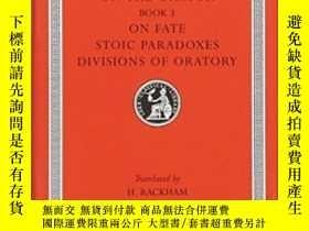 二手書博民逛書店Rhetorical罕見TreatisesY255562 Cicero Loeb 出版1989