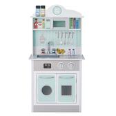 【愛吾兒】美國 TEAMSON Kids 蜜糖甜心-綠色小型玩具廚房