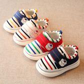 學步鞋春秋嬰兒學步鞋男寶寶軟底布鞋子兒童單鞋女小幼兒機能鞋1-3歲2一【限時好康八折】