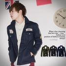 柒零年代【N8760J】秋冬軍裝帥氣ARMY徽章夾克外套(JK3401)hipster