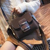 包包女新款潮季百搭韓版手提大氣時尚寬帶簡約單肩斜挎包 交換禮物