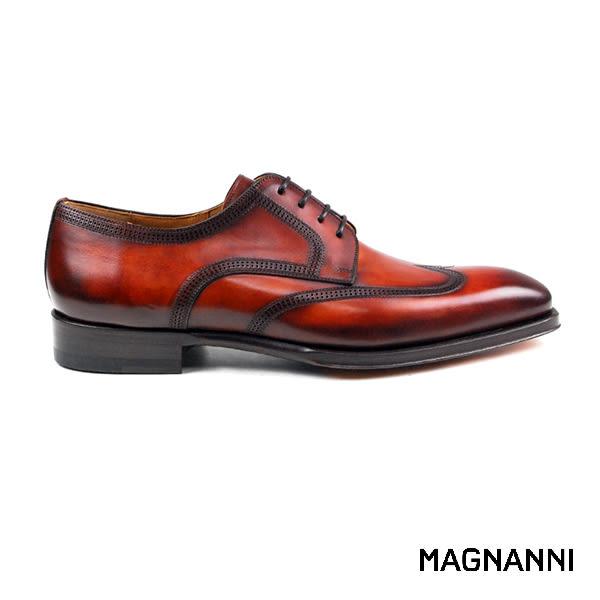 【MAGNANNI】古典德比紳士皮鞋 褐色(19110-COG)
