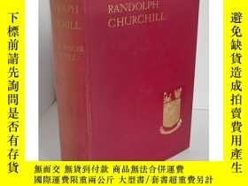 二手書博民逛書店【包罕見】Lord Randolph Churchill,《邱吉