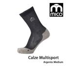 MICO Multisport Sock多功能運動襪1610/城市綠洲(義大利、萊卡、舒適柔軟、抗臭)