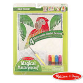 《美國Melissa Doug 》神奇水彩畫作系列熱帶雨林╭★JOYBUS 歡樂寶貝