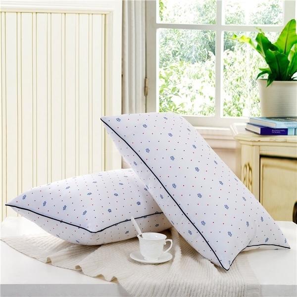 高彈性舒眠科技羽絲絨枕(一對)