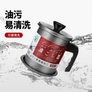 日式油壺家用不銹鋼過濾網帶蓋裝油瓶廚房儲濾油神器豬油渣儲油罐 蘿莉小腳丫