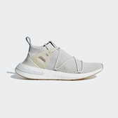 Adidas Originals Arkyn PK W [B96509] 女鞋 運動 休閒 流行 套襪 舒適 避震 灰米