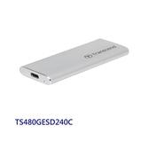 創見 行動固態硬碟 【TS480GESD240C】 480GB SSD 支援 USB 3.1 AC 金屬外殼 新風尚潮流