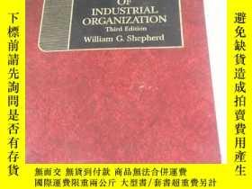 二手書博民逛書店the罕見economics of industrial organization third edition 精